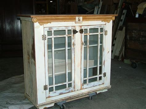Bryan Appleton Designs September 2010 Vintage Glass Door Cabinet
