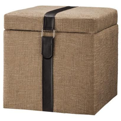 tan ottoman storage accent furniture storage ottoman tan target
