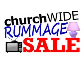 rummage sale for missions united methodist church