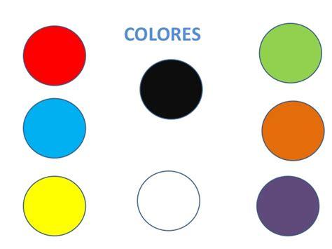 los colores aprender los colores