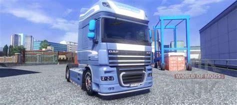 Daf Xf 105 Blue Edition Para Euro Truck Simulator 2