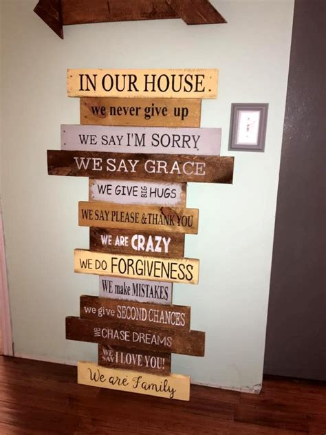 Handmade Sign Ideas - 70 pallet ideas for home decor pallet furniture diy