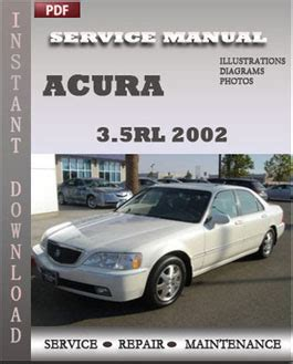 service and repair manuals 2003 acura rl free book repair manuals acura 3 5rl 2002 service manual pdf download servicerepairmanualdownload com