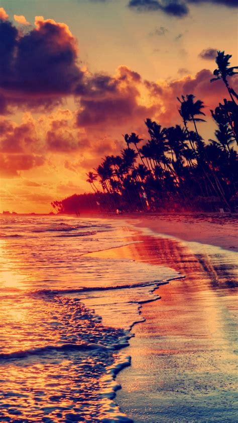 Wallpaper For Iphone Sunset | sunset beach iphone 5s wallpaper download iphone