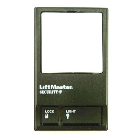 liftmaster automatic garage door lock