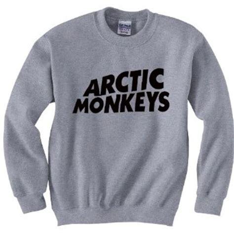 Pajangan Dinding Arctic Monkeys Vintage arctic monkeys grey sweatshirt retro j23 co uk clothing