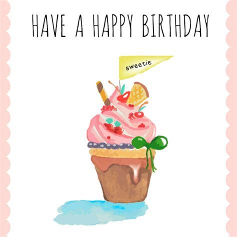 123 Free Greeting Cards Happy Birthday Happy Birthday Sweetie Free Happy Birthday Ecards