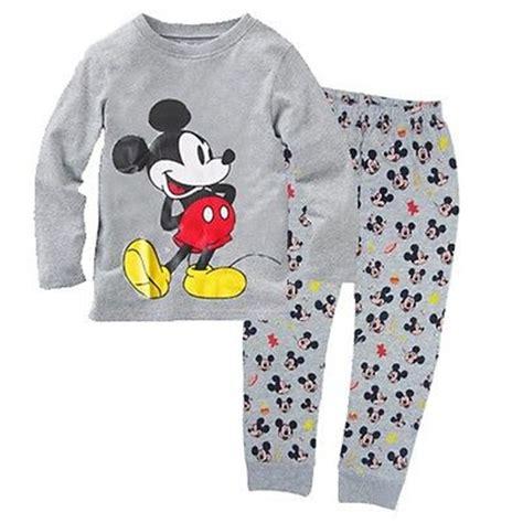 Pajamas All Mickey baby boy kid mickey mouse homewear sleepwear pajama