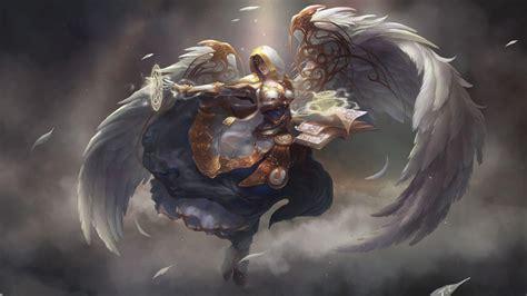 wallpaper angel craft world of warcraft priest wallpapers wallpaper cave