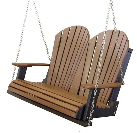 porch swing seat heritage 2 seat porch swing the rocking chair company