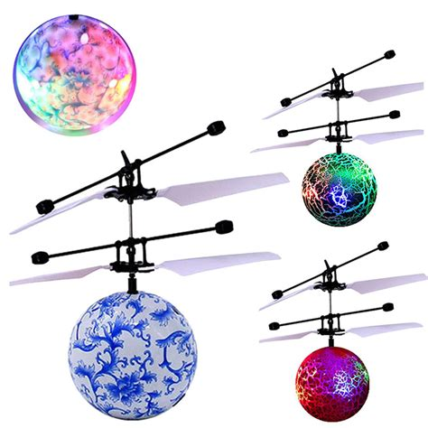 light up toys for kids rc toy epochair rc flying ball drone helicopter ball built