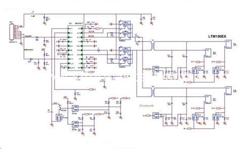 Ac Sharp Di come testare e riparare un inverter lcd ccfl