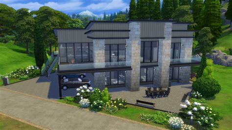 Modern Family House by The Sims 4 Gallery Spotlight Modern Family Homes Sims