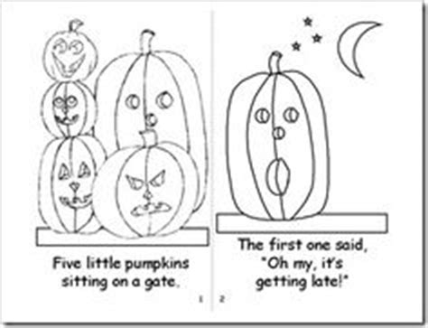 1000 images about five little pumpkins on pinterest