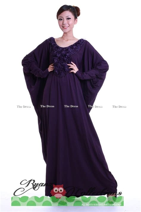 7g Nothing Black Dress ryanz collection k69695rossy sleeve kaftan dress