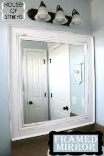 how do you frame a bathroom mirror 25 best ideas about bathroom mirror cabinet on