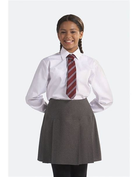 Blouse Age613 sleeve school blouse redhill school stourbridge county sports and schoolwear