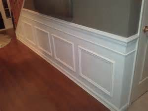 Faux Raised Panel Wainscoting - diy classic wainscoting