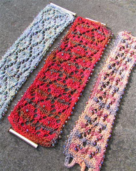 bead knitting nelkin designs knitting patterns