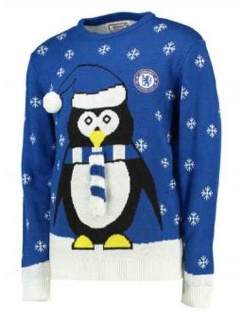 chelsea club christmas pic best jumpers in football arsenal go 3d