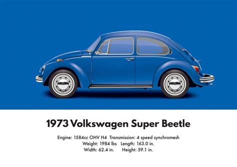 blue volkswagen beetle 1970 1973 volkswagen super beetle biscay blue by artbyedo on