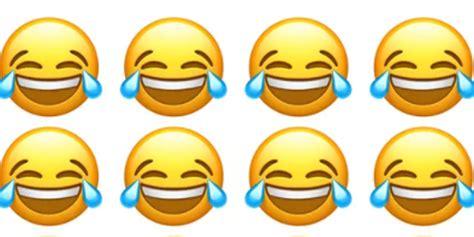 l emoji l emoji qui pleure de rire est celui que l on utilise le