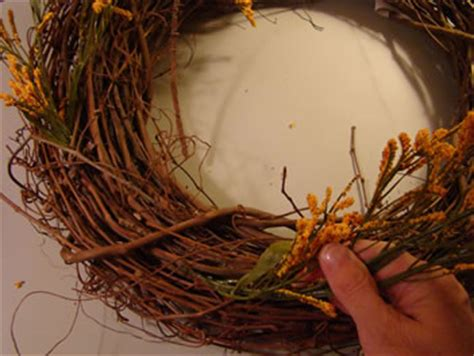 How To Decorate A Grapevine Wreath by Ring In With A Fresh Grapevine Wreath Matt And Shari