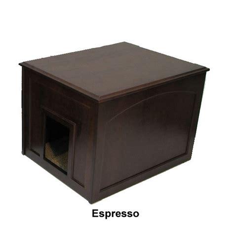 Litter Cabinet by Cat Litter Cabinet Condo Espresso