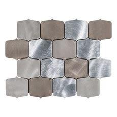 montage dune geo brushed metallic mosaic 9in. x 11in