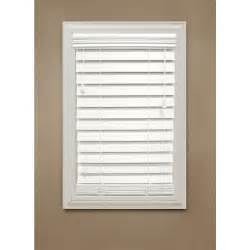 Wooden Blinds Home Decorators Collection White 2 1 2 In Premium Faux
