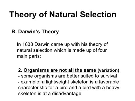 what is natural section topic 4 cell theory and natural selection
