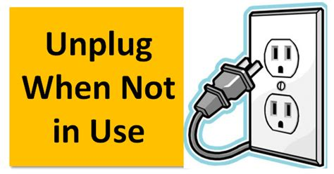 What Can I Use To Unclog My Kitchen Sink Will My Electric Bill Decrease When I Unplug Appliances Electronicsbeliever