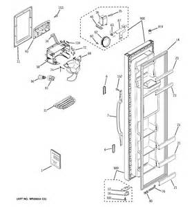 Americana ge refrigerator t series freezer shelves parts model