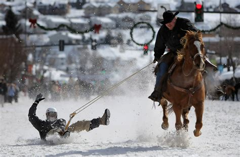 steamboat horse shawn yeager in steamboat winter carnival zimbio