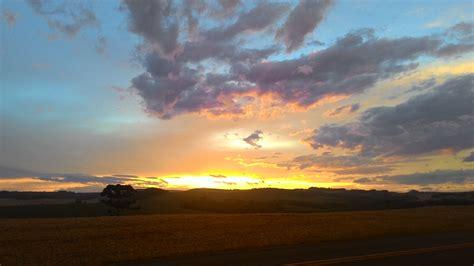 gambar horison matahari terbenam matahari terbit