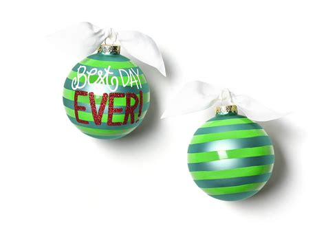 best color ornaments best day glass ornament
