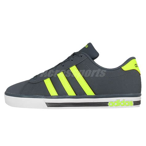Adidas Neo Coderby Vulc Solid Grey Original Made In Indonesia adidas neo label daily team 9tis vulc mens casual shoes sneakers 1 ebay