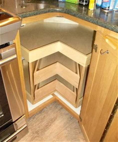 pull out corner shelving lazy susan for the home