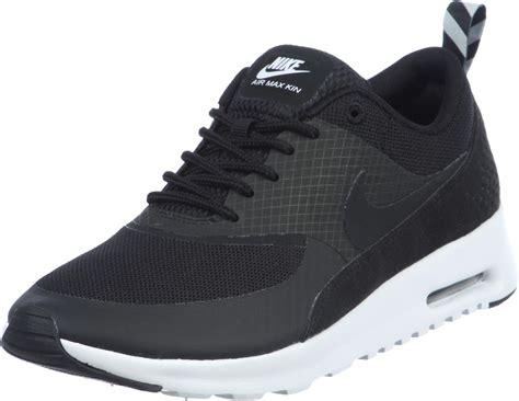 nike air max thea  shoes black
