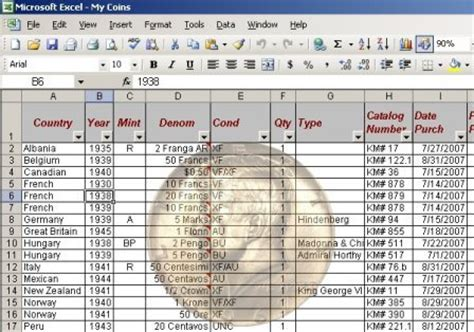 how to organize and inventory your coin collection pgs