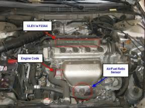 Honda Element Exhaust System Replacement Cost Honda Accord Why Is Car Backfiring Honda Tech