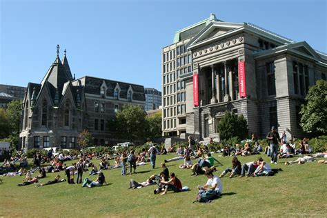 Mba Colleges In Calgary Canada by Mcgill In Canada Us News Best Global Universities