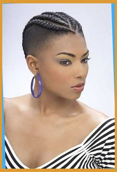 short balck plaited hair braids for black women with short hair short hairstyles