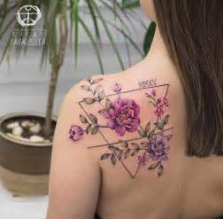 baby s birthday floral back piece best tattoo design ideas