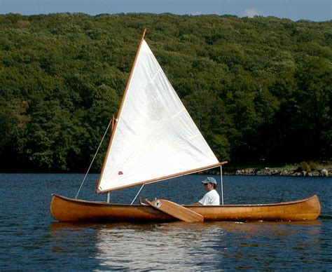 canoe sail plans diy doo scobby - Canoes With Sails
