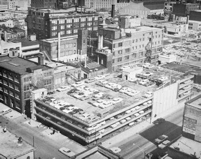 City Of Chicago Records Municipal Parking Garages Forgotten Chicago History