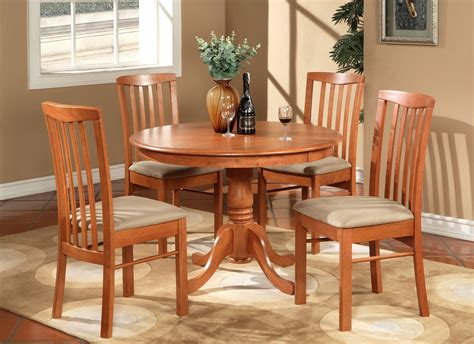 5 pc kitchen table set table and 4 kitchen chairs ebay
