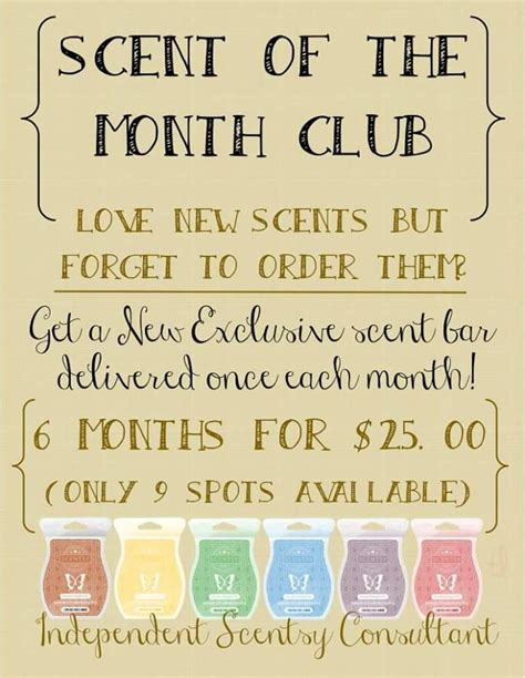 Parfum Gatsby Scent Of trying new scents join scentsy s scent of the month