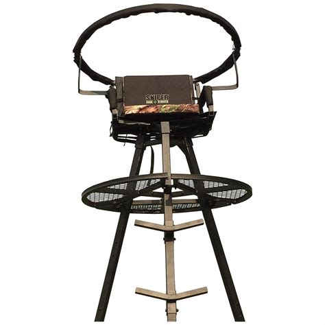 Swivel Tree Stand - sniper deluxe 13 swivel top tripod stand 637204 tower