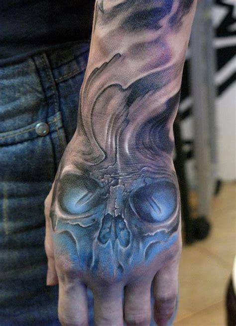 hand tattoo no sleeve 100 awesome skull tattoo designs tattoo designs tattoo